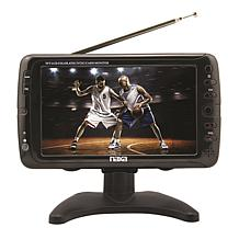 """7"""" Portable TV and Digital Multimedia Player with Car Package"""
