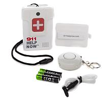 911 Help Now Emergency Communicator w/Alarm Keychain & 3-Year Warranty