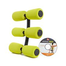 Ab Doer 360 6-pack Massage Rollers & Core Mobility DVD