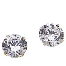 Absolute™ 14K Gold 2.5ctw Cubic Zirconia Round Stud Earrings