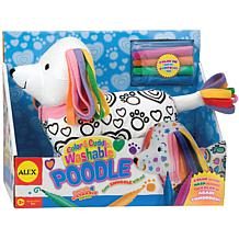 ALEX Toys Color and Cuddle Washable Kit - Poodle