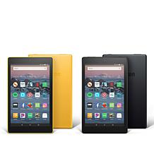 "Amazon Fire HD 8"" IPS 16GB Alexa-Enabled Tablet 2-pack with Voucher"
