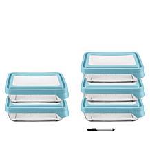 Anchor Hocking TrueSeal 10-piece Glass Food Storage Set