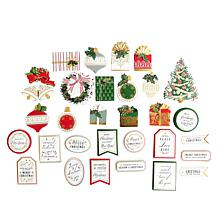 Anna Griffin® 120 Christmas Mini Stickers and Sentiments