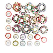 Anna Griffin® 120 Wreath Stickers and Sentiments