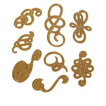 Anna Griffin® Fancy Flourish 8-piece Cutting Dies