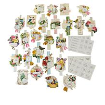 Anna Griffin® Springtime Collage Card Toppers