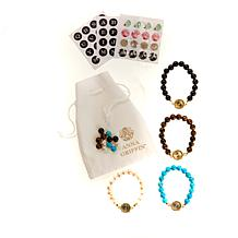 Anna Griffin® Stone Bracelet Jewelry Making DIY Kit Set of 4