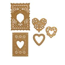 Anna Griffin® Valentine Doily Cut and Emboss Die Set