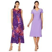 "Antthony ""Electric Color"" 2-pack Dresses"