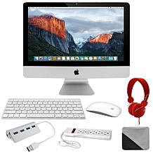 """Apple iMac 21"""" with DJ Headphones, Cleaning Cloth & Accessories"""