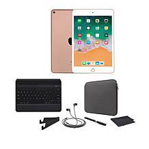 Apple iPad Mini 5 64GB w/Bluetooth Keyboard and Accessories
