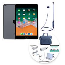 """Apple iPad Mini 5 7.9"""" Tablet w/Case, Earbuds and Accessories"""