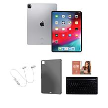 """Apple iPad Pro Silver 11"""" 128GB Tablet with Keyboard"""