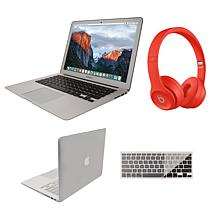 "Apple MacBook Air 13"" 128GB with Beats Solo3 and Clip Case"
