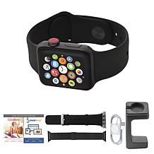 Apple Series 3 GPS Sport Watch w/Calls, Texts and 2 Extra Bands
