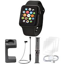 Apple Watch Series 3 With Stand and Screen Protectors