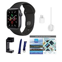 Apple Watch Series 5 GPS Sport Watch Bundle with Voucher
