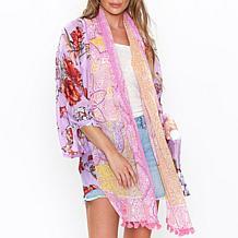 Aratta Floral Bomb Kimono