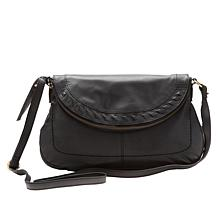 """As Is"" Born Janice Leather Crossbody Bag"