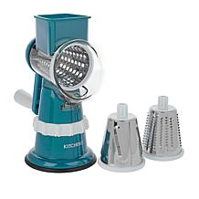 """""""As Is"""" Kitchen HQ Speed Grater and Slicer with Suction Base II"""