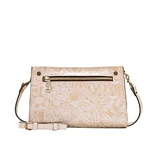 """As Is"" Patricia Nash Turati Leather Crossbody Bag"