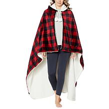 """""""As Is"""" Soft & Cozy Oversized Hooded Throw Blanket"""