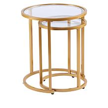august  &  leo Ava Set of 2 Nesting Tables