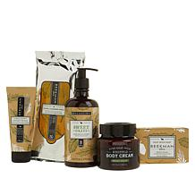 Beekman 1802 5-piece Sweet Grass Goat Milk Gift Set