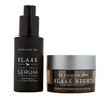 Beekman 1802 Blaak Night Goat Milk Cream & Serum for Dry Skin