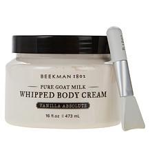 Beekman 1802 Goat Milk 16 oz. Whipped Body Cream with Spatula