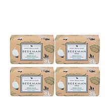 Beekman 1802 Sweet Grass Goat Milk Bar Soap 4-piece Set Auto-Ship®