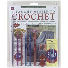 Beginners Crochet Kit - Book, Hooks and More