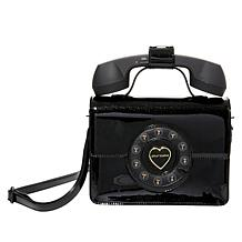 Betsey Johnson Hello Phone Crossbody Bag