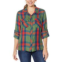 Billy T High Desert Plaid Classic Button-Up Shirt
