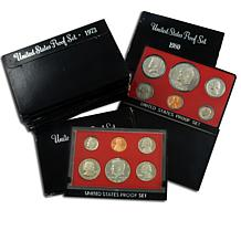 Black Box S-Mint Proof Sets: 1973 - 1982