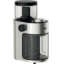 Braun FreshSet 12-Cup Burr Coffee Grinder in Stainless Steel/Black