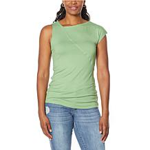 Brittany  Humble One-Sleeve Tank Top