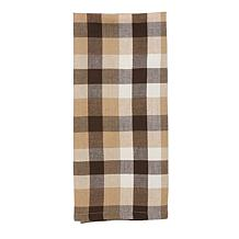 Dunmore Plaid Cocoa Tabletop Collection
