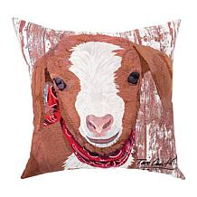 C&F Home Goat Indoor/Outdoor Pillow