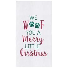 C&F Home Merry Woofmas Towel Set of 2