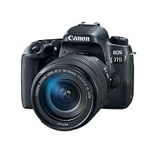 Canon EOS 77D 24.2MP Digital SLR Camera with EF-S 18-135mm Lens, 8G...
