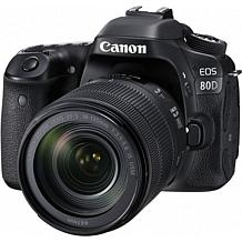 Canon EOS 80D 24.2MP Digital SLR Camera with 18-135mm Lens