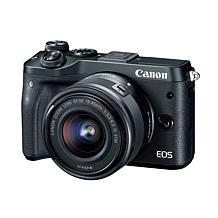 Canon EOS M6 24.2MP Digital Camera Kit with EF-M 15-45mm IS STM Lens