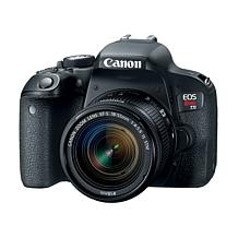 Canon EOS Rebel T7i 24.2MP Digital SLR Camera with EF-S 18-55mm Lens