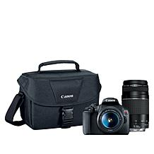 Canon EOS T7 24MP DSLR Camera with 18-55mm and 75-300mm Lenses
