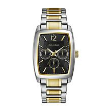 Caravelle Men's 2-Tone Dress Watch