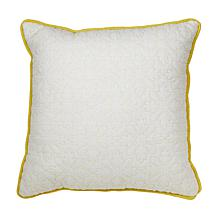 Carleton Varney Hanalei Plantation Decorative Quilted Pillow