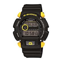 Casio Men's G-Shock Black/Yellow Digital Sport Watch
