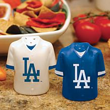 Ceramic Salt and Pepper Shakers - Los Angeles Dodgers